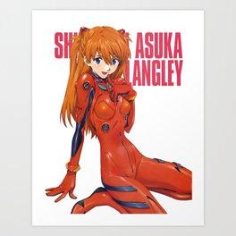 Asuka Langley Sohryu Art Print