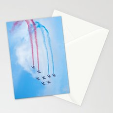 PAF - Patrouille de France - Hyeres637-2010 aircraft aviation  637 Stationery Cards