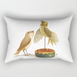 The Nightingale Rectangular Pillow