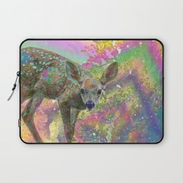 Paint with All the Colors on the Deer Laptop Sleeve