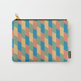 Pastel Parallelograms Carry-All Pouch