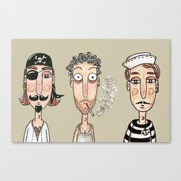 Men Canvas Print