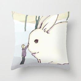 Imaginary Friend Throw Pillow