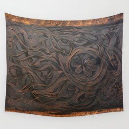 Beauty of wood Wall Tapestry
