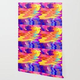 Dizzy Pink Blocks Wallpaper
