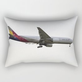 Asiana Airlines Boeing 777 Rectangular Pillow