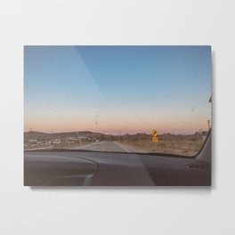 SUNSETS WITH HER / California Metal Print