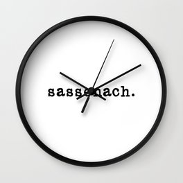 Sassenach. Wall Clock