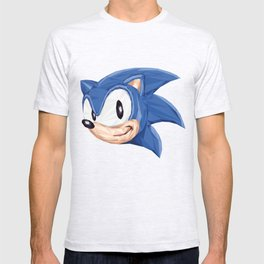 Triangles Video Games Heroes - Sonic T-shirt