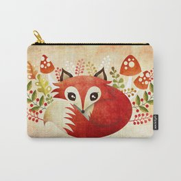 Lazy Foxy Carry-All Pouch