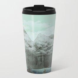 The Mountain Lake (Green) Metal Travel Mug