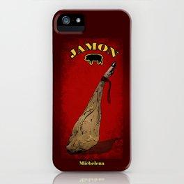 Jamon iPhone Case