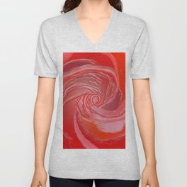 Just a Rose Unisex V-Neck