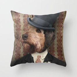 Sir Winston Throw Pillow