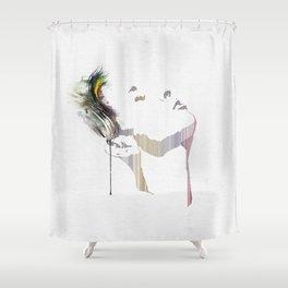 Imprint Shower Curtain