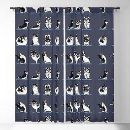 Husky Yoga Blackout Curtain