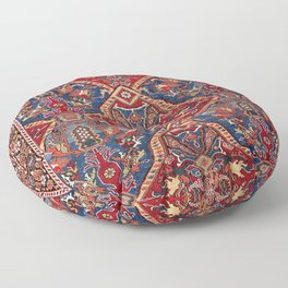 Afshar Kerman South Persian Rug Print Floor Pillow
