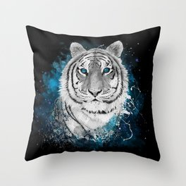 Tiger, don't stop...BE strong Throw Pillow