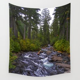 Rainier River Wall Tapestry