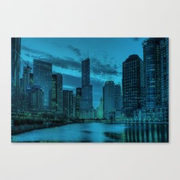 Chicago Blues 2 Canvas Print