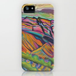 Topa Mountain Winery iPhone Case