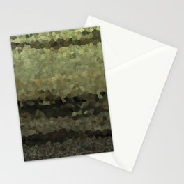 Wood and stone layers abstract pattern Stationery Cards