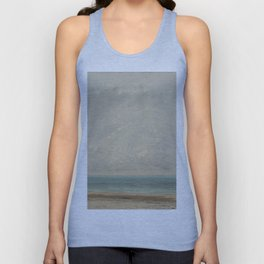 Gustave Courbet Calm Sea 1866 Painting Unisex Tank Top