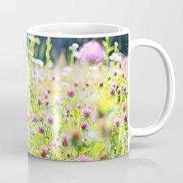 Pink Wildflowers Coffee Mug
