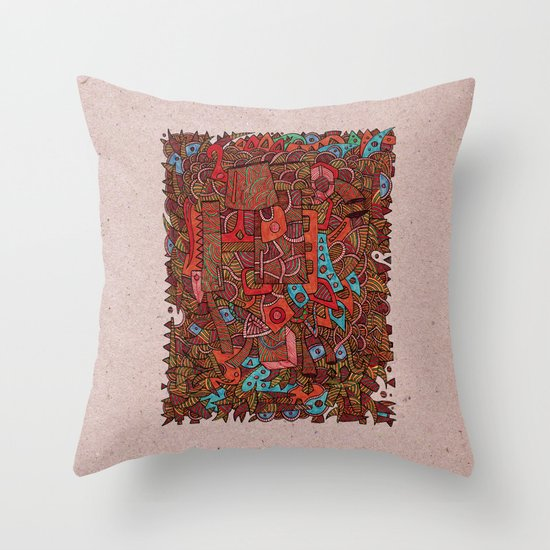 - antiques - Throw Pillow