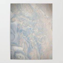 Marble Waves Poster