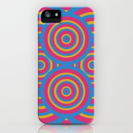 wide eyes&wireframes iPhone Case