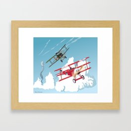 The Red Baron Framed Art Print