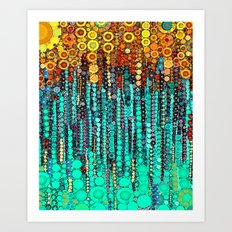 :: Party On and On :: Art Print