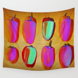 small pink peppers Wall Tapestry