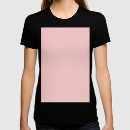 Millennial Pink Neapolitan Rose Quartz Blush Solid Matte Colour Palette T-shirt
