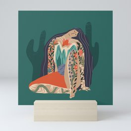 Madre Tierra Mini Art Print