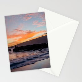 fisherman's meditation Stationery Cards