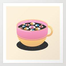 Caffeine Art Print