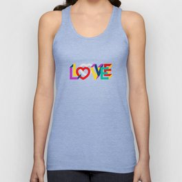 IN LOVE ANYTHING GOES ! Unisex Tank Top