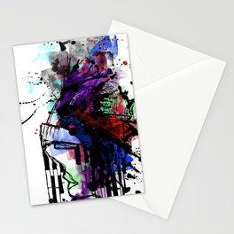 head splash Stationery Cards