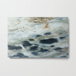 Polished Marble Stone Mineral Abstract Texture 21 Metal Print