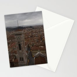 Firenze from Above Stationery Cards