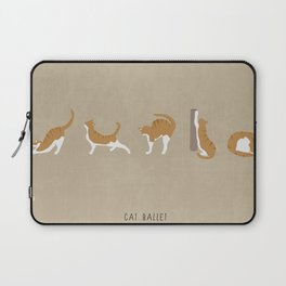 Cat Ballet Laptop Sleeve