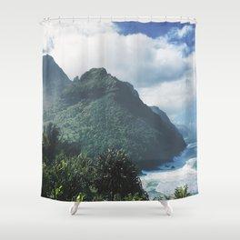 Na Pali Coast Kauai Hawaii Shower Curtain
