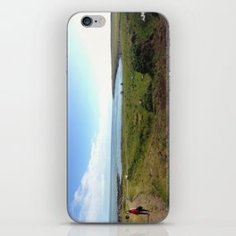Coastline Panorama iPhone Skin