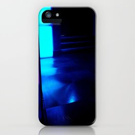 Blue Ship iPhone Case