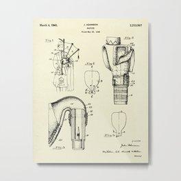 Bagpipe-1941 Metal Print