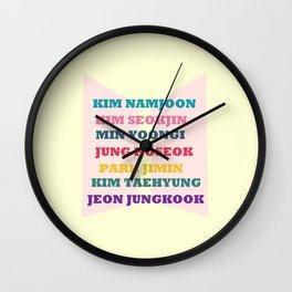 BTS FAN CHANTS  Wall Clock