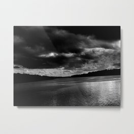 Spilled Light Metal Print