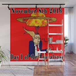 November 8th 2016 Wall Mural